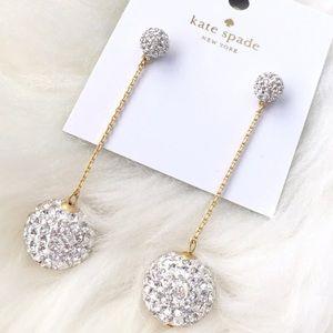 kate spade Jewelry - Kate Spade • Razzle Dazzle Linear Drop Earrings